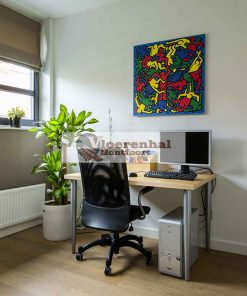 Vloerenhal Montfoort werkplek met houten vloer