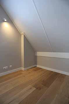 Vloerenhal Montfoort houten vloer op zolder