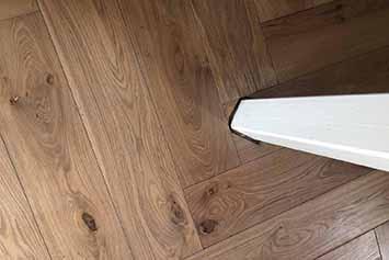 Vloerenhal Montfoort houten vloer voorbeeld