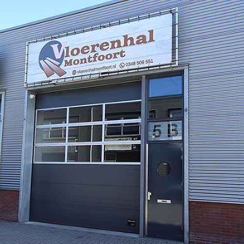 Vloerenhal Montfoort bedrijf voorkant